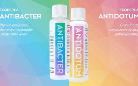 Ecoperla Antidotum i Ecoperla Antibacter – premierowe produkty, które warto znać